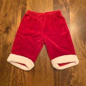 Velour baby Santa pants!!! ❤️